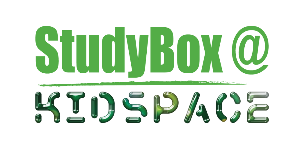 Studybox Kidspace logo green